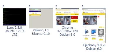 Проверка отображения сайта